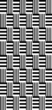 Crosshatched Stripes